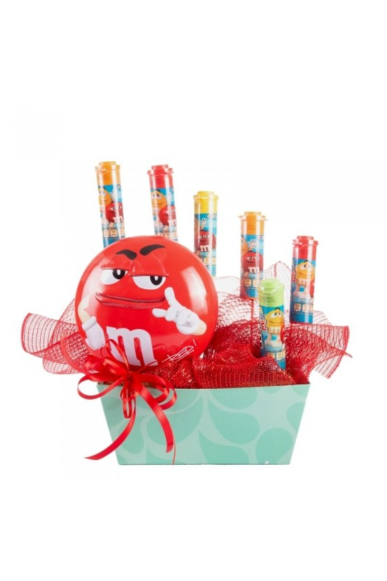 M&M's in love (red)
