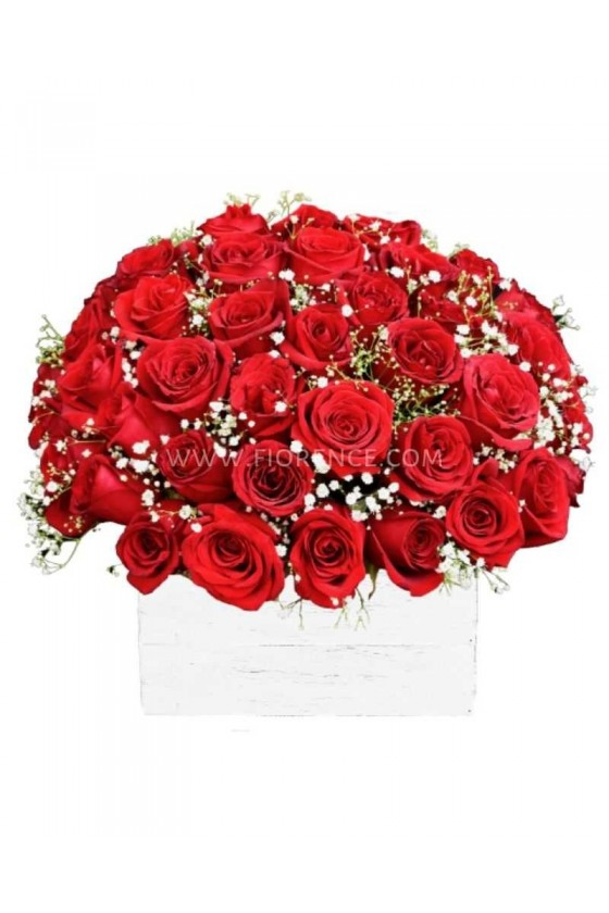 Flowers Special 50 Roses Arrangement!!
