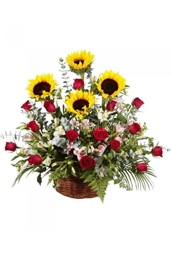 Flowers Dawn Basket