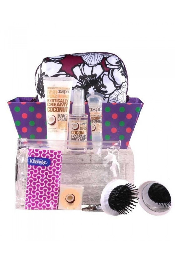 Coconut aroma set for travel
