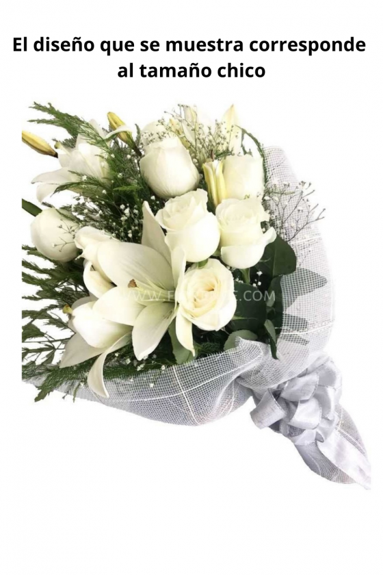 Elegance and Purity Bouquet