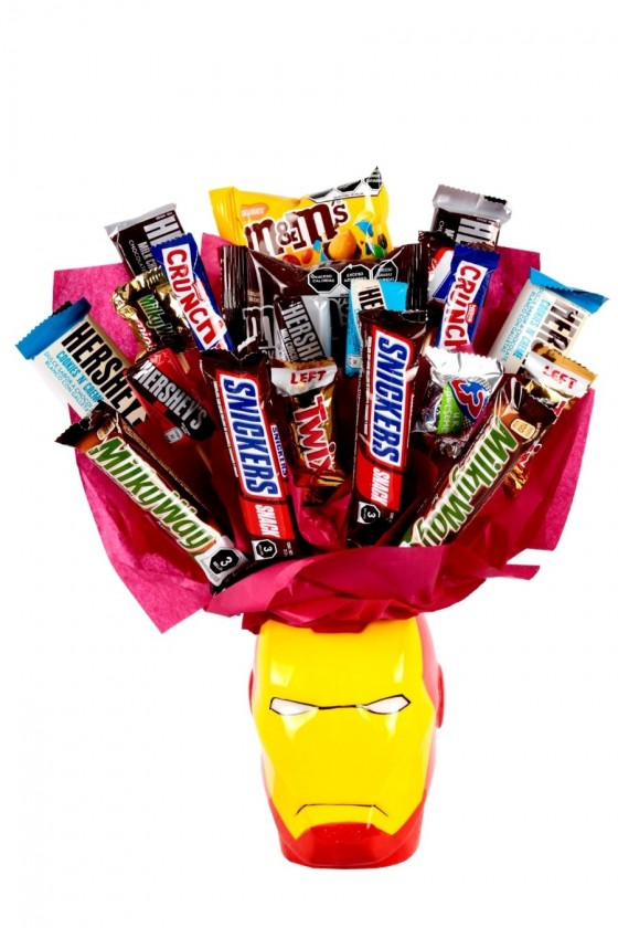 Iron Man Candy Bouquet