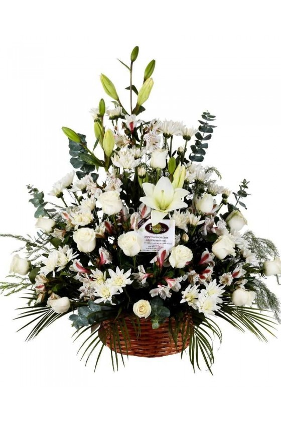 Sympathy Arrangement Home View