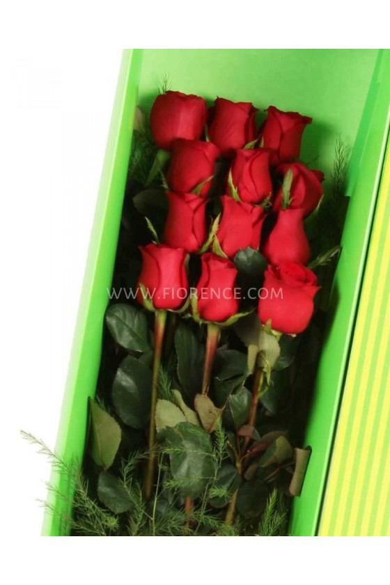 12 Quality Gold Roses With Marshmallows
