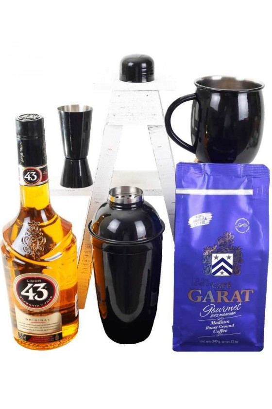 Carajillo and coffee Set