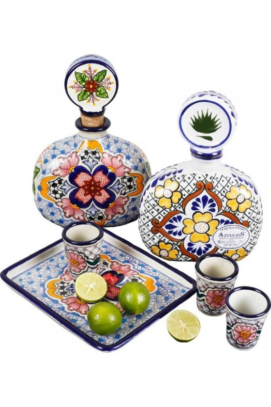 Tequila and Talavera Set