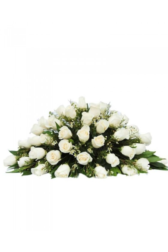 White Roses Arrangement